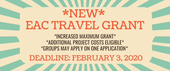 Travel Grant Feb 3 Deadline